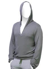 Мужская футболка CLUMSY с капюшоном