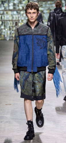 Military look: мужская одежда Dries Van Noten spring-summer 2017
