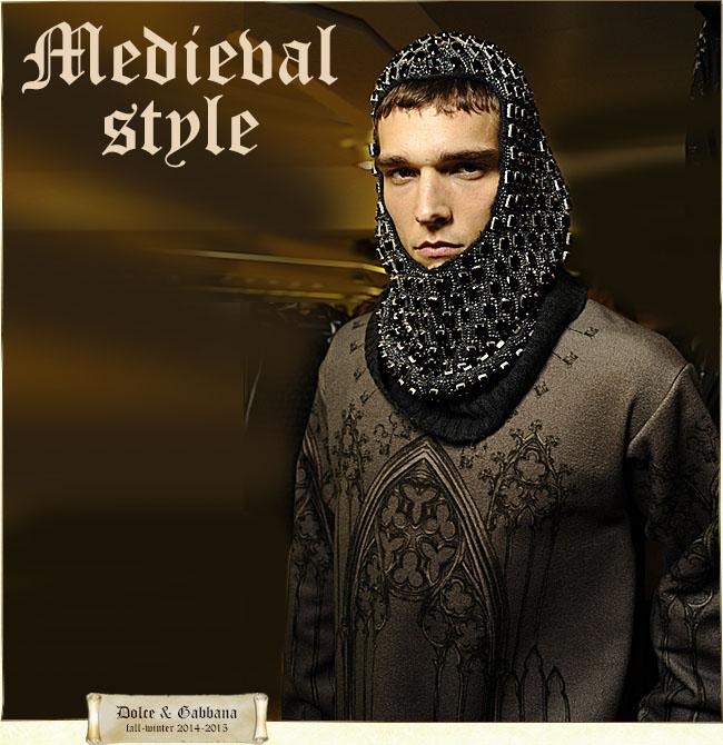 Мужская одежда в средневековом стиле: вечный модный тренд