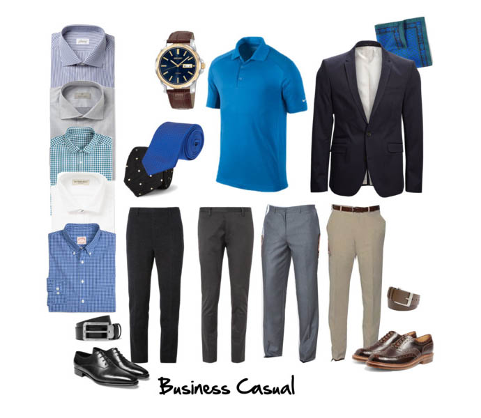 Business casual (фото)