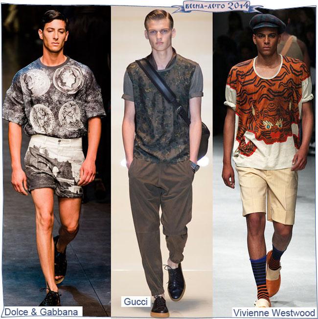 Мужские футболки весна-лето 2014