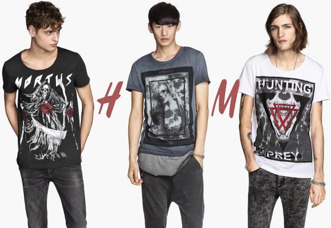 Футболки H&M с логотипами рок-гигантов: дизайнеры пошли дальше