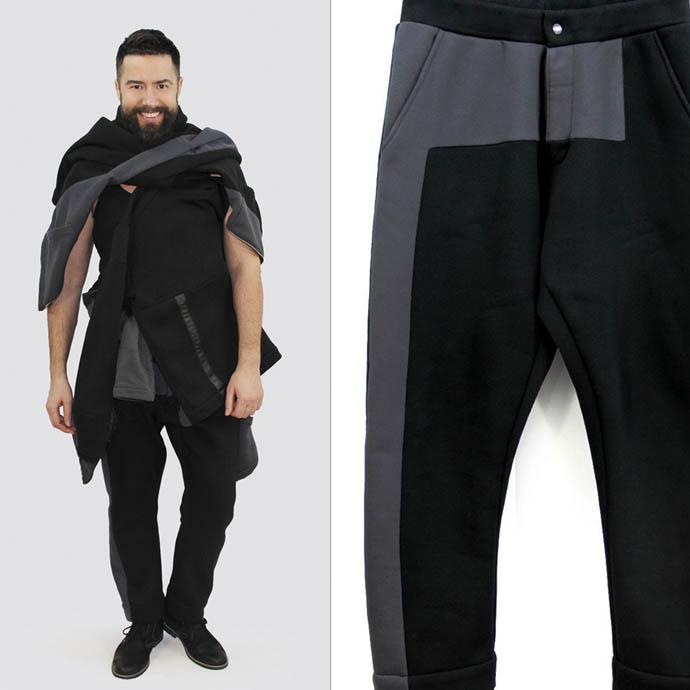 Мужские брюки ЦЕХ YEGUPOV GENNADY