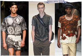 Модные мужские футболки весна-лето 2014