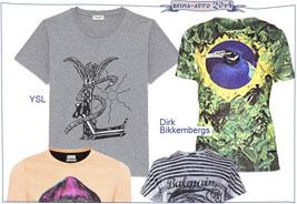 Модные мужские футболки сезона весна-лето 2014