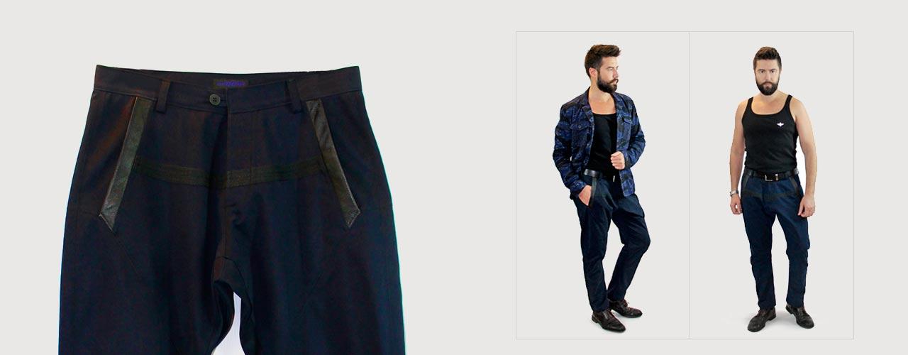 Мужские брюки галифе в интернет-магазине YG-GARMENTS.RU